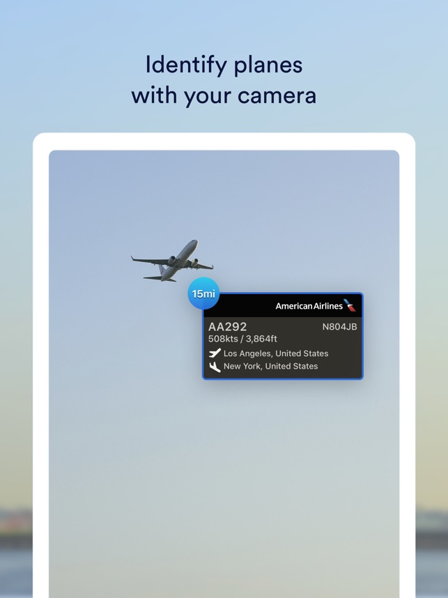 app to find plane in sky