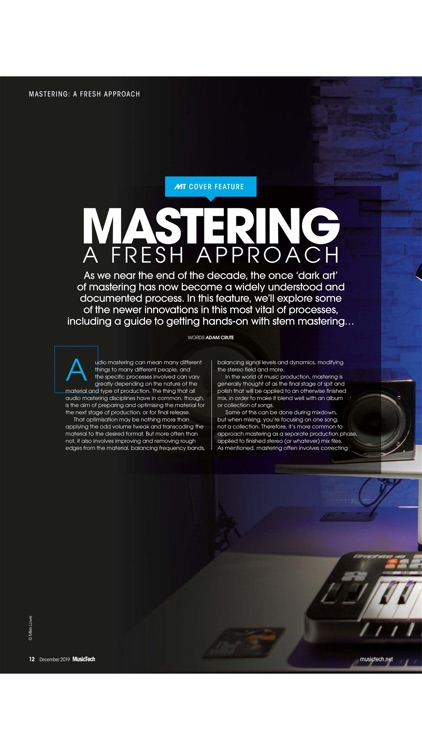MusicTech Magazine screenshot-2