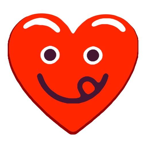 Heart Red Love Emojis Stickers