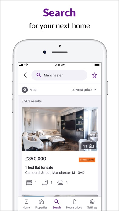 Zoopla Preview screenshot one