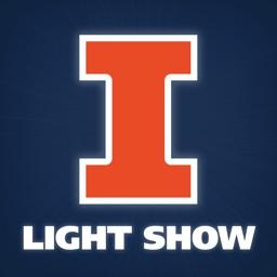 Fighting Illini Light Show