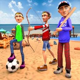 Beach Summer Sports Athletics