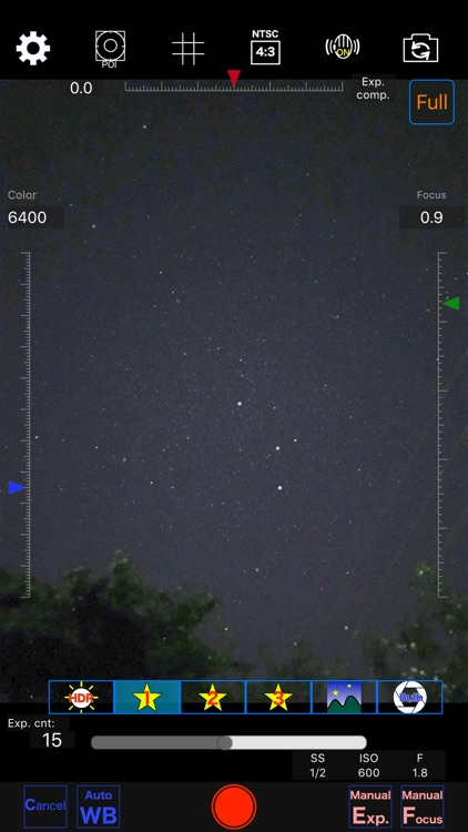 Starry sky Camera screenshot-0