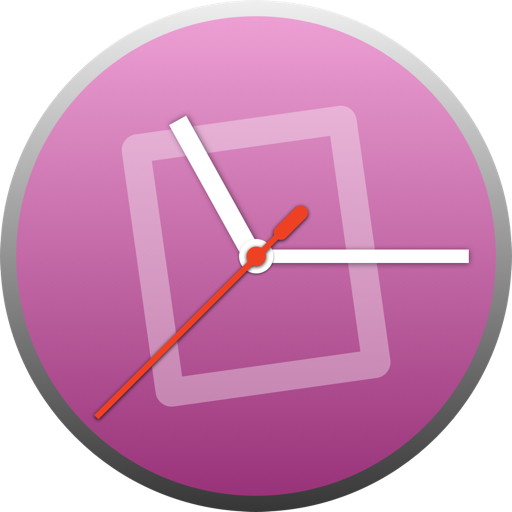 Focus - Active app and clock