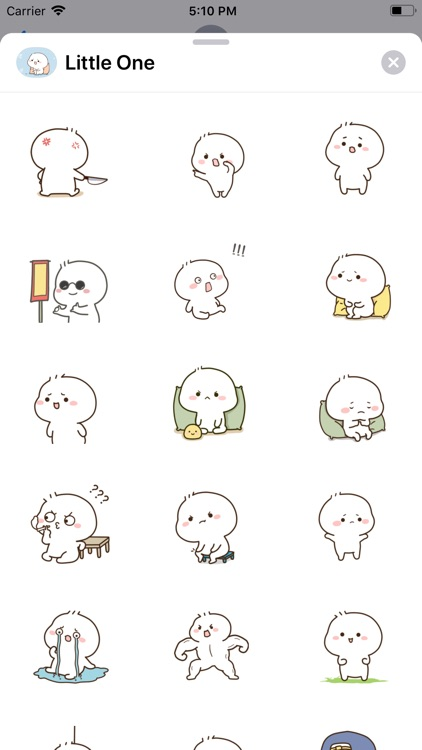 Little One Animated Stickers