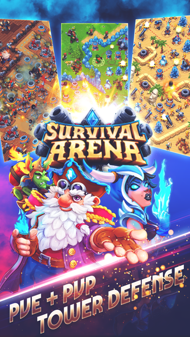 Survival Arena™ TD screenshot 1