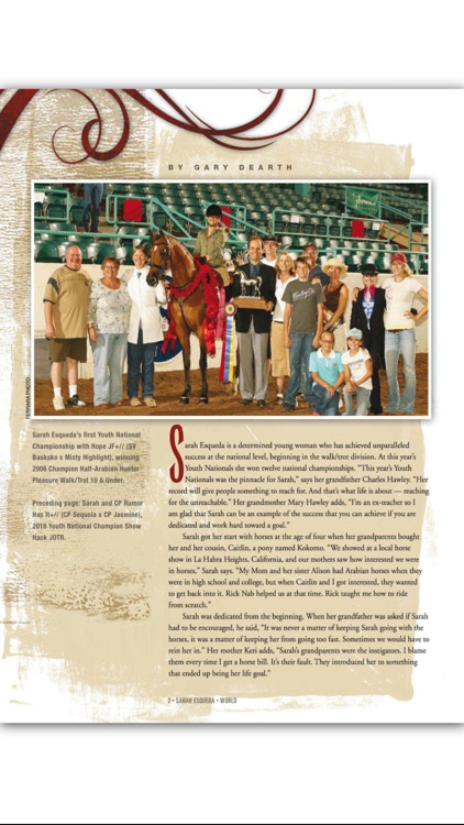 Arabian Horse World Magazine screenshot-3