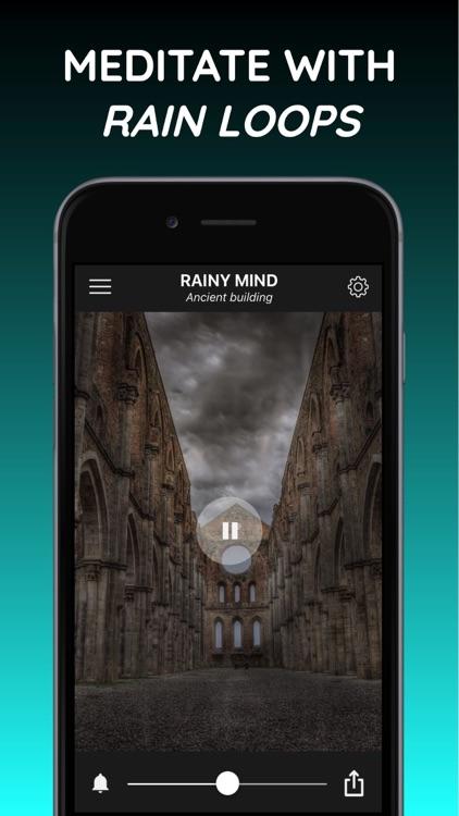 Rain sleep sounds: Rainy Mind screenshot-4