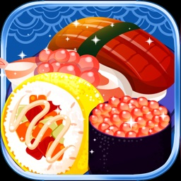 Sushi Bar Frenzy-cooking games