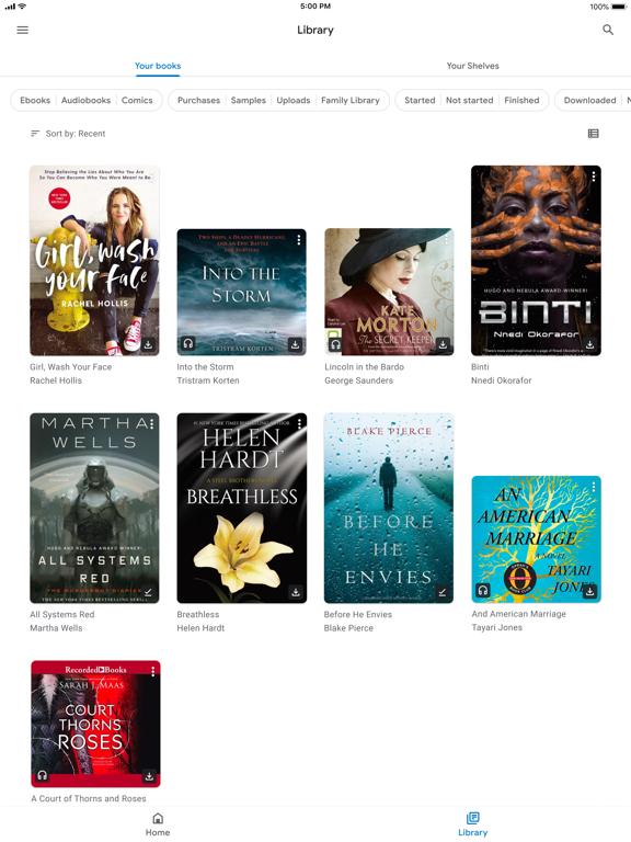 Screenshot #5 pour Google Play Livres