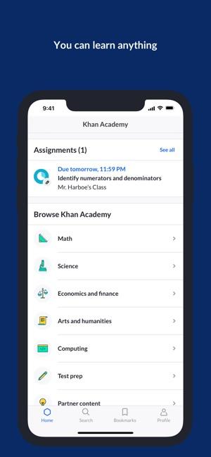Khan Academy on the App Store