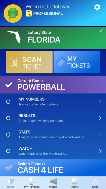 Keno Lotto Pro: Ticket Scanner