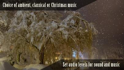 Peaceful Snowfall HDのおすすめ画像4