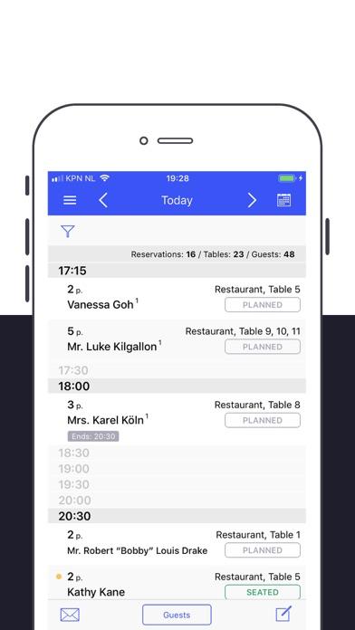 Guestplan screenshot one
