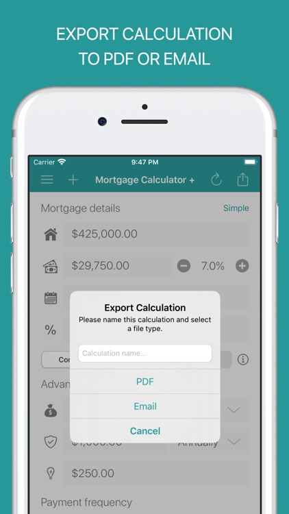Mortgage Calculator + screenshot-6