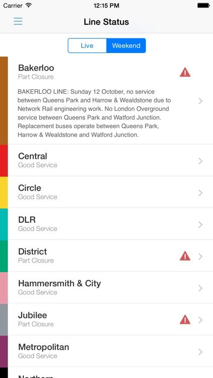 London Tube Live - Underground screenshot-3