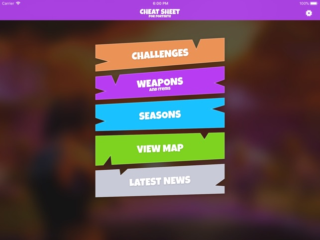 Cheat Sheet Guide for Fortnite on the App Store