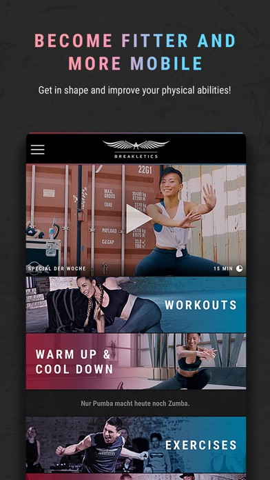HIIT the Beat by Breakletics screenshot one