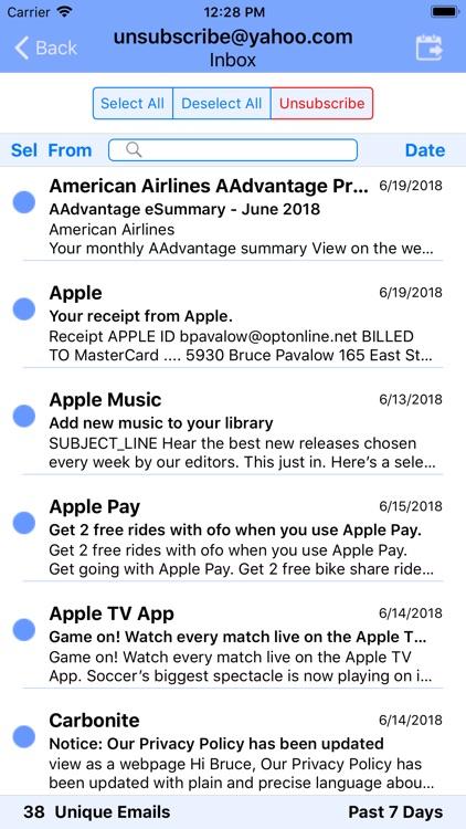 UnSubscribe screenshot-3