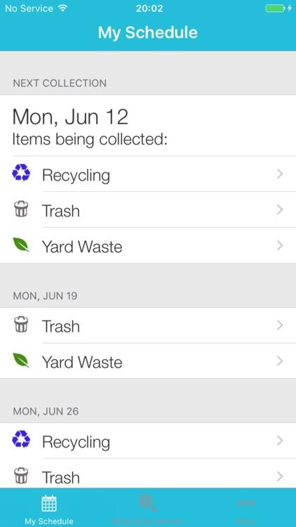 Olathe Trash Day