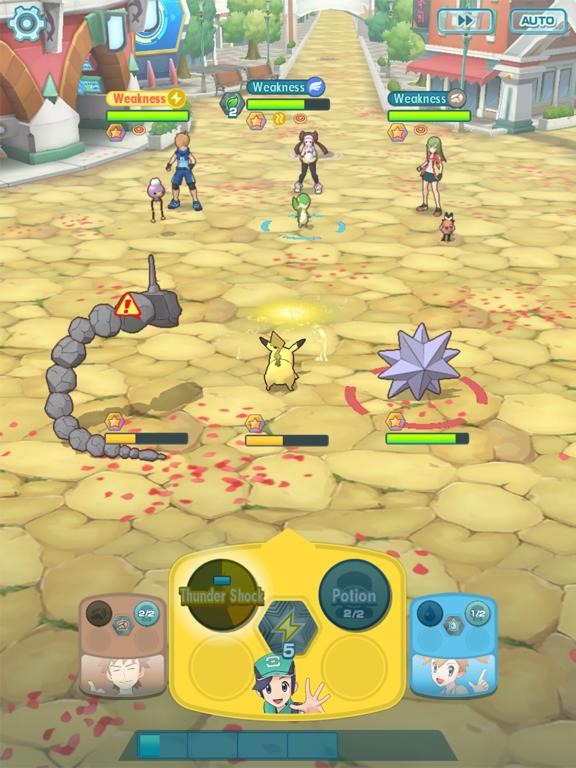 iPad Image of Pokémon Masters