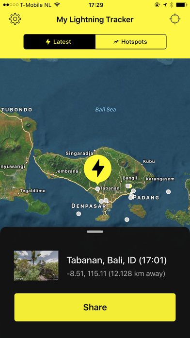 Screenshot for My Lightning Tracker Pro in United States App Store