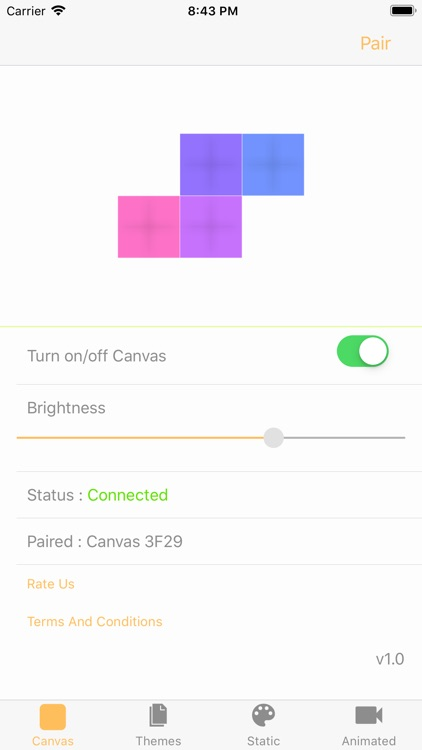 Firefly For Canvas Nanoleaf screenshot-7