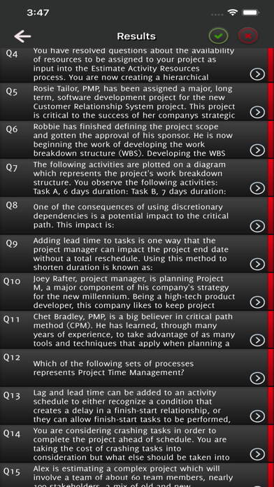PMP Practice Anywhere Exams screenshot 5