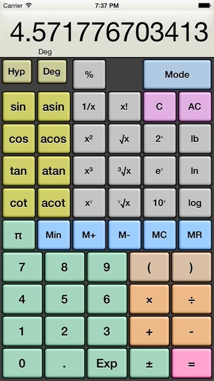 Kalkulilo (Calculator) screenshot-4