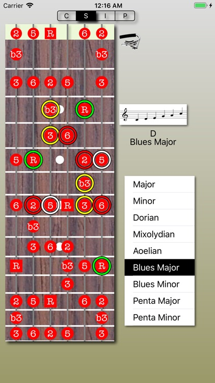 Chord Calculus Lite screenshot-3