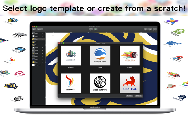 Logo Creator Allows Mac Users to Create Professional Logos in Minutes Image