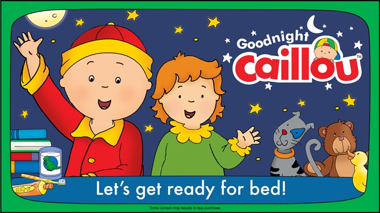 Goodnight Caillou screenshot-0
