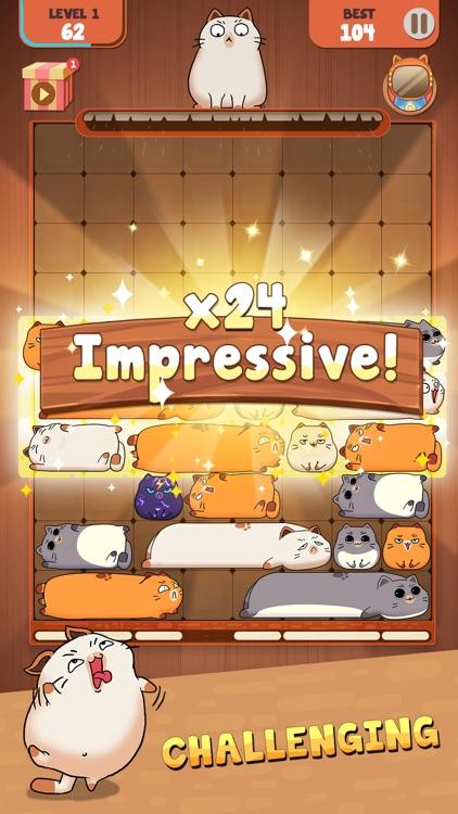 Haru Cats: Slide Block Puzzle screenshot-4
