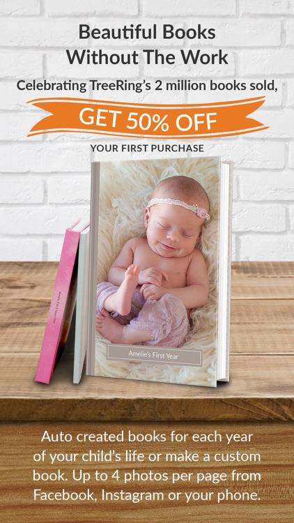 TreeRing Baby Book Memories screenshot-0