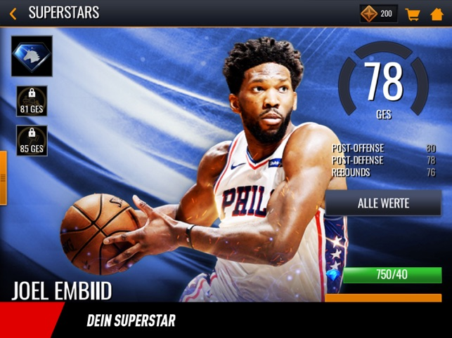 ‎NBA LIVE Mobile Basketball Screenshot