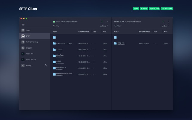 ‎Termius - SSH client Screenshot