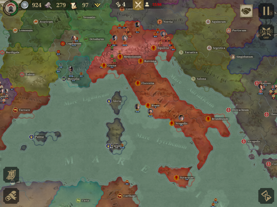 Great Conqueror: Rome screenshot 11
