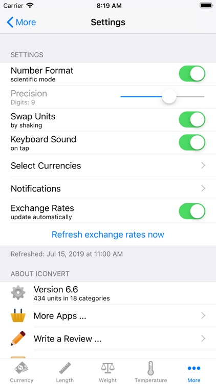 Convert - Unit and Currency screenshot-6