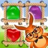Bunny Drops 2 - Match 3 puzzle