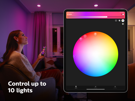 Philips Hue Bluetooth screenshot