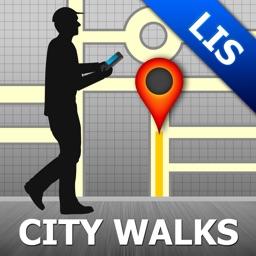Lisbon Map & Walks (F)