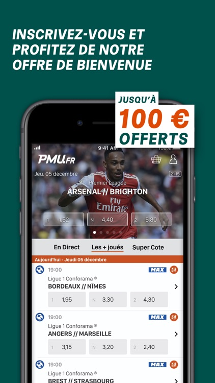 PMU Sport - Paris sportifs screenshot-0