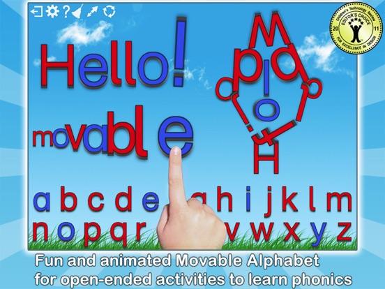 Montessori Crosswords - Spelling With Phonics Alphabet screenshot