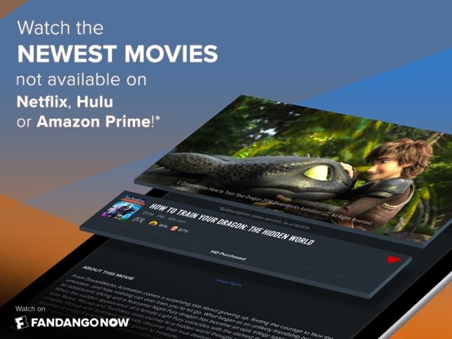 FandangoNOW Movies + TV on the App Store