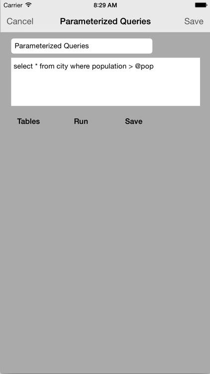 MySQL QueryDB SSH Client screenshot-3