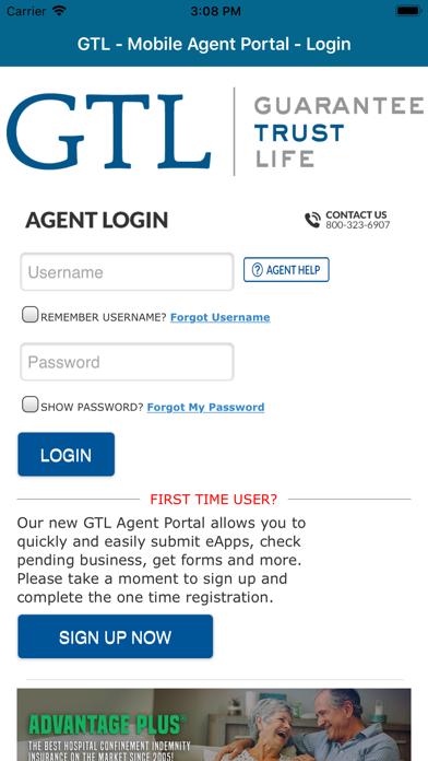 GTL E-AppScreenshot of 1