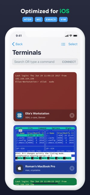 Termius - SSH client on the App Store