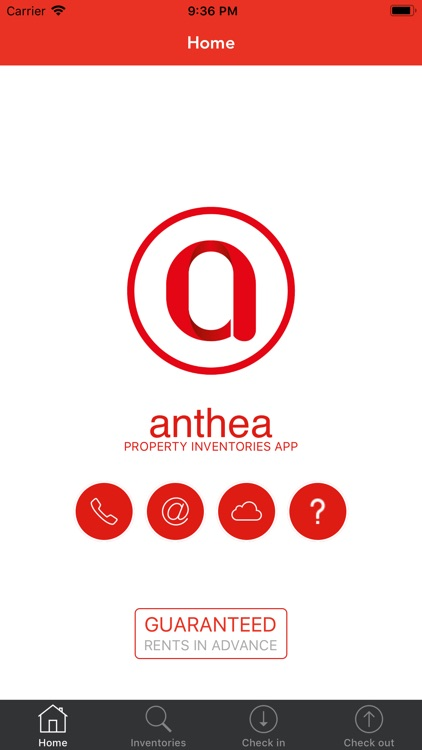 Anthea Inventory