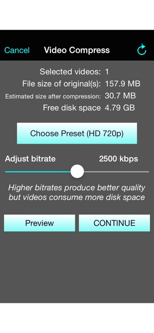 Video Compress - Shrink Vids on the App Store