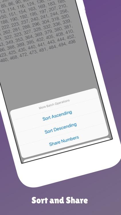 Fast Random Number Generator screenshot-5
